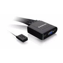Switch Iogear Kvm 4 Puertos Gcs24u Usb Teclado Mouse Video