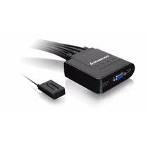 Switch Kvm 4 Puertos Usb Teclado, Mouse, 1 Monitor 4 Equipos