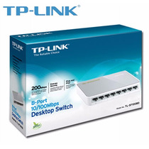 Switch Tp-link 8 Puertos Tl-sf1008d 10-100 Rj45 Red Xtc