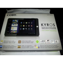 Tablet Coby Kiros Mid7042-4 Remate Oferta