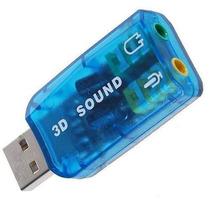 Tarjeta De Sonido 3d Usb Tipo Pendrive Virtual 5.1