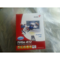 Capturadora Video Tv Genius Tvgo A12 Con Radio Fm Y Control