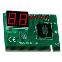 Tester Probador Errores Tarjeta Madre Pci Pc Display 2 Dígit