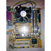 Combo Pc Tarj Madre Intel, Memor Ddr3 2gb, Procesador Dual C