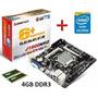Tarjeta + Intel Celeron Dual Core + 4gb Ddr3 (laschimeneas)