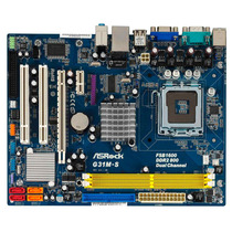 Tarjeta Lga 775 Asrock G31 M-s+procesador+1,5 Gb Ram Ddr2