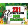Kit Imprimible Doki Explorador Safari 2x1