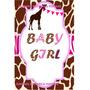 Mini Kit Imprimibles Baby Shower Jirafa, Monita