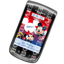 Tarjetas De Invitacion Minnie Mickey Tipo Blackberry - Epven