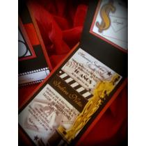 Invitaciones Hollywood Coleccion Mtv Edicion Rojas Especial