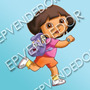48 Sticker Dora La Exploradora - Calcomanias Epvendedor