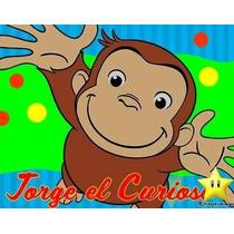 Kit Imprimible Jorge El Curioso Cotillon Invitaciones Fiesta