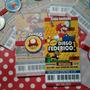 Mario Bros - 12 Tarjetas De Invitación Personalizadas