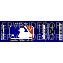 Imagen De Invitacion Mlb Baseball - Epvendedor