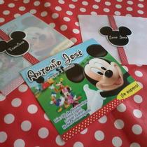 La Casa De Mickey Mouse - 12 Tarjetas De Invitación