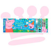 Invitaciones Ticket Concierto La Cochinita Pepa Peppa Pig