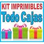 Mega Kit Imprimible Cajas Cajitas + Regalos