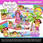 Kit Imprimible Dora La Exploradora En La Playa 2x1 Dmm