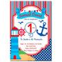 Invitaciones Infantiles Postal Personalizadas Fiesta Ch