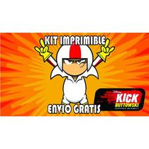 Kick Buttowski Imprimible Invitaciones + Regalo