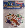 Figuras Foamy Dragon, Calcomania Sticker Manualidad Cotillon