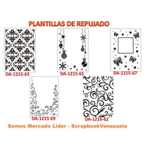 Plantillas De Repujado - Scrapbook - Evolution Tool - Sizzix