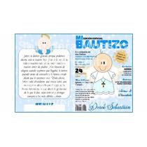 Tarjeta Invitación Infantil Revista Bautizo Peq Opalina