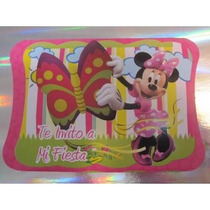 Invitaciones Infantiles Minnie, Mickey, Toy Story.