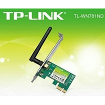 Tarjeta De Red Pci Express Tp-link 150mbps Tl-wn781nd