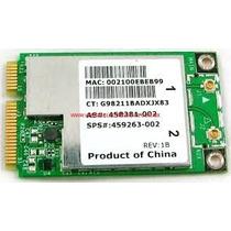 Tarjeta Red Wifi Hp Compaq Cq40 Cq45 Dv4 Pavilion 458381-001