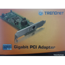Tarjeta De Red Ethernet Gigabit Pci Trendnet Teg-pcitxr