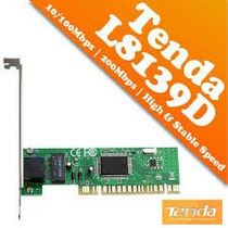 Tarjeta De Red Tenda L8139d 10/100mbps Pci Ethernet Adapter