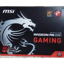 Tarjeta De Video Ati Radeon Msi R9 290 4gb Ddr5 512-bits