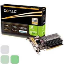 Tarjeta De Video Gt 720 Zotac 2gb Ddr3 Nvidia Geforce Pci-e