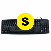 Teclado Usb Pc Escritorio Laptop Computadora Ultra Fino Gar