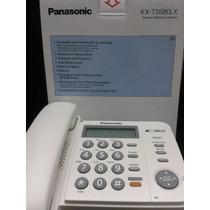 Telefono Sencillo Panasonic Con Pantalla Kx-tg580