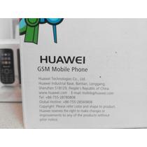 Telefono Huawei Gsm G1000 Sin Bateria