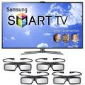 Nuevo!! Samsung 3d Smart Tv Led 40 Un40es7500 + 4 Lentes