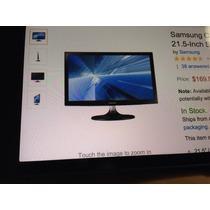 Monitor Importado Samsung C300 Alta Definición, 21,5