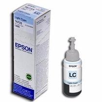 Tinta Epson Original Cian Claro T673520 L800 70ml