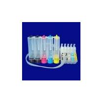 Sistema Continuo De Tinta Para Impresor Epson Tx 525