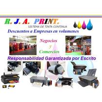 Sistemas De Tinta Continuo Para Impresoras Hp Original