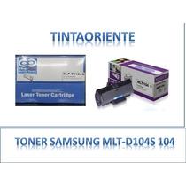 Toner Samsung Mlt-d104s (104) 100% Garantizado!