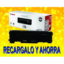 Toner Canon 128 / Hp 278 Recarga Expres Garantizado