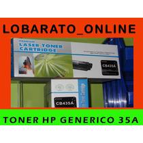 Toner Hp Cb-435a 35a Generico De Excelente Calidad!!