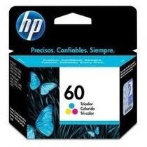 Cartuchos Hp 60 Color 100% Original