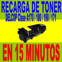 Recarga De Toner Delcop Clase A170 / 180 / 190 / 171 En 15
