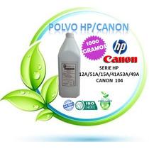 Toner Impresora 1 Kg Hp 12a 1010 1020 Canon 104 Mf 4350