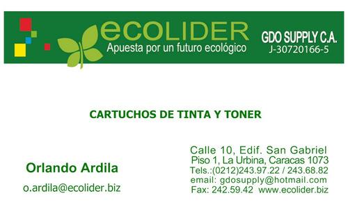 Toner Hp Y Tinta Cartuchos - Remanufactura - Recarga