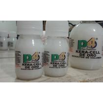 Keratina P4 Kera-cell De Oro 40ml (sin Formol Ni Amoniaco)
